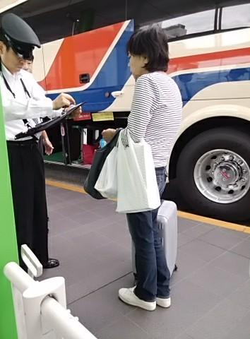 いつの間にか、バスもタブレットの時代に